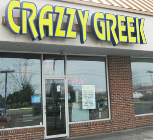 Crazzy Greek Storefront